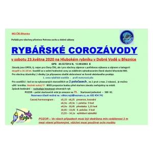 Rybáři z Březnice pořádají Corozávody