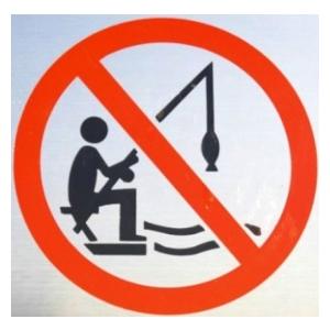 Zákaz rybolovu na rybníku Slon