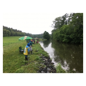 Dětské rybářské závody v Bystřici