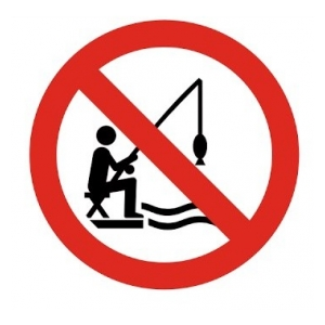 Zákaz rybolovu na Řehačce